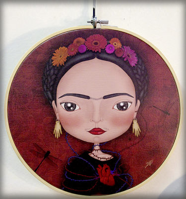 decoración bebé infantil regalo dibujo arte diseño cine amor niños vintage ropa venta digital cuadro lienzo méxico flores corazón libélula ilustración original