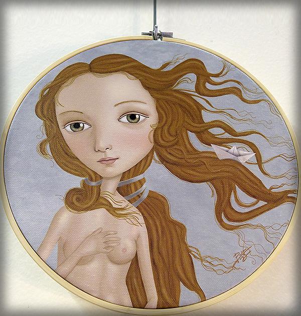 decoración bebé infantil regalo dibujo arte diseño cine amor niños vintage ropa venta digital cuadro ilustración original pelirroja barco papel