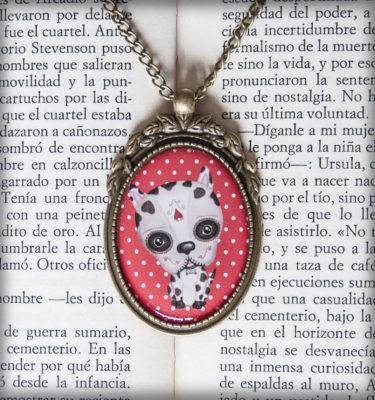 decoración bebé infantil regalo dibujo arte diseño cine amor niños vintage ropa venta digital cuadro colgante perro katrina día muertos méxico original ilustrado