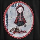Camiseta TIRANTES Caperucita Killer DETALLE