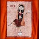 Camiseta chica Kamala detalle
