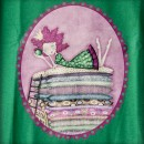 Camiseta chica Princesa Guisante detallle