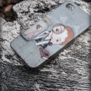 Carcasa iphone 4 3D Je t'aime mon amour Perfil