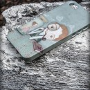 Carcasa iphone 5 3D Je t'aime mon amour Perfil