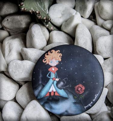 decoración bebé infantil regalo dibujo arte diseño cine amor niños vintage ropa venta digital cuadro espejo principito rosa planeta cuento original ilustrado