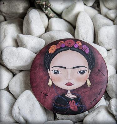 decoración bebé infantil regalo dibujo arte diseño cine amor niños vintage ropa venta digital cuadro espejo frida kahlo flores corazón libélula méxico original ilustrado