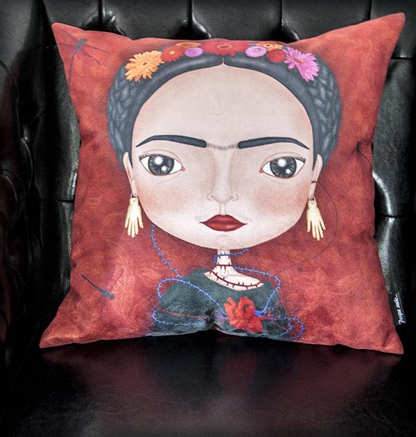 decoración bebé infantil regalo dibujo arte diseño cine amor niños vintage ropa venta digital cuadro frida kahlo méxico pintora original ilustrada