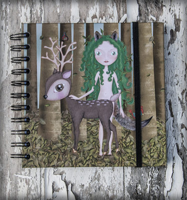 decoración bebé infantil regalo dibujo arte diseño cine amor niños vintage ropa venta digital cuadro libreta salvaje bosque ciervo conejo ardilla lobo pájaro naif original ilustrada
