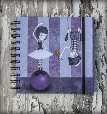 decoración bebé infantil regalo dibujo arte diseño cine amor niños vintage ropa venta digital cuadro libreta mimos naif amor romántico bailarina trapecista original ilustrada