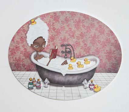 decoración bebé infantil regalo dibujo arte diseño cine amor niños vintage ropa venta digital cuadro ilustración original bañera cuento baño naif