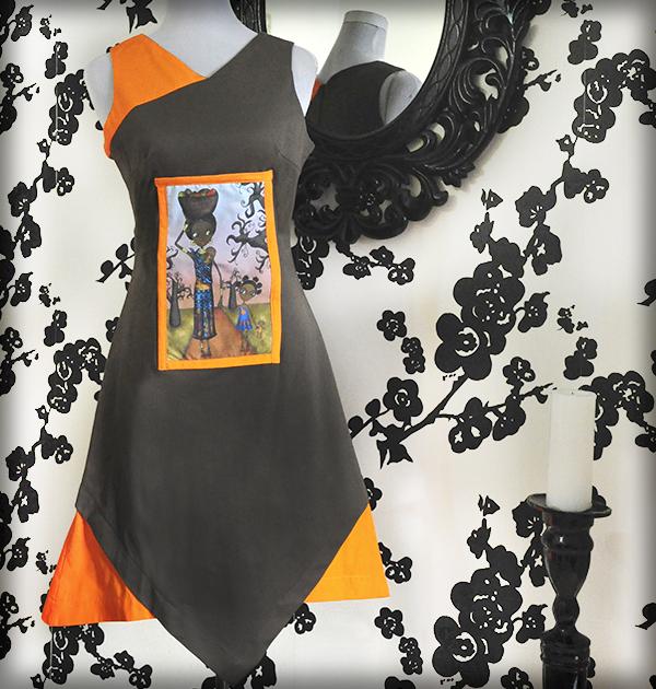 decoración bebé infantil regalo dibujo arte diseño cine amor niños vintage ropa venta digital cuadro vestido baobabs áfrica original ilustrado