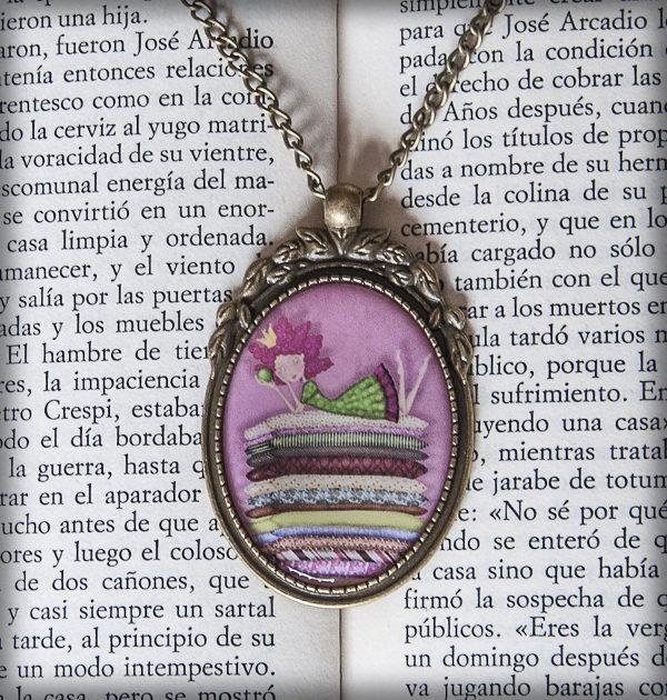 decoración bebé infantil regalo dibujo arte diseño cine amor niños vintage ropa venta digital cuadro colgante princesa guisante rosa naif original ilustrado