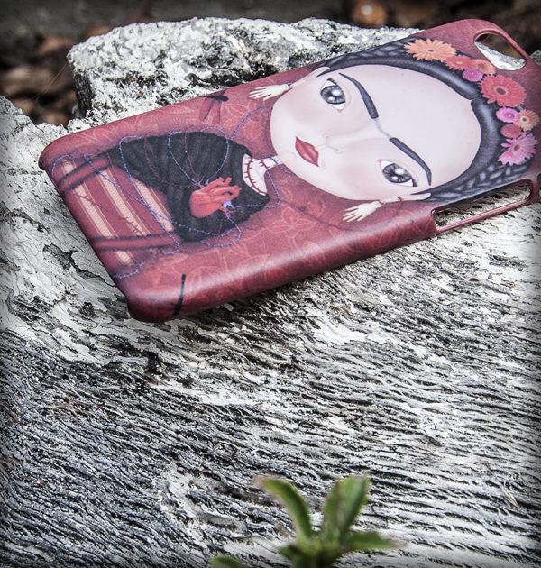 Carcasa Iphone 6/6s ilustrada 3D | Frida Kahlo