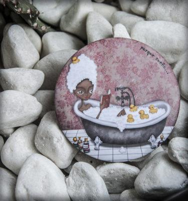 decoración bebé infantil regalo dibujo arte diseño cine amor niños vintage ropa venta digital cuadro espejo patos bañera cuento naif original ilustrado