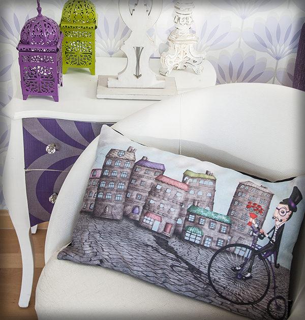 decoración bebé infantil regalo dibujo arte diseño cine amor niños vintage ropa venta digital cuadro caballero cita amor flores monociclo bicicleta original ilustrada