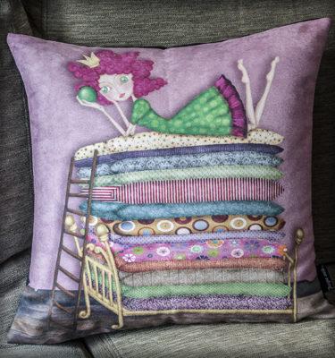 decoración bebé infantil regalo dibujo arte diseño cine amor niños vintage ropa venta digital cuadro princesa guisante cuento naif original ilustrada