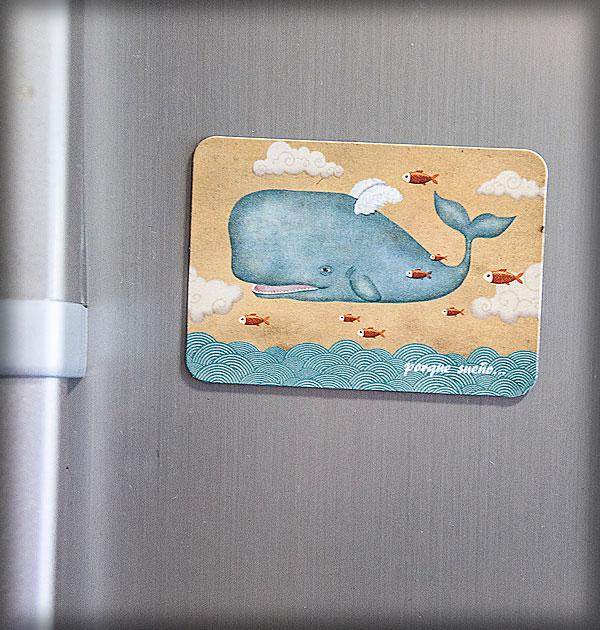 ilustración original decoración bebé infantil regalo dibujo arte diseño cine peces voladores niños vintage ropa venta digital cuadro mar nevera