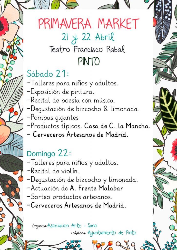 Nuestras ilustraciones en el Primavera Market Pinto
