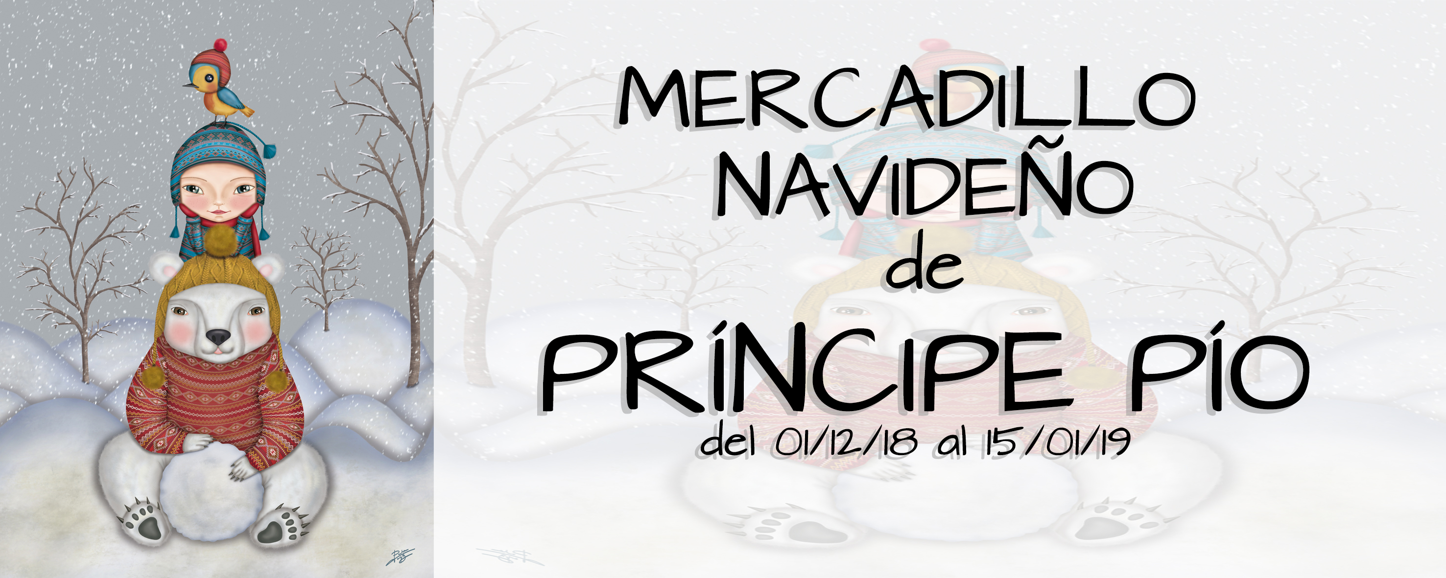 Porque sueño… estas Navidades en Príncipe Pío!!!