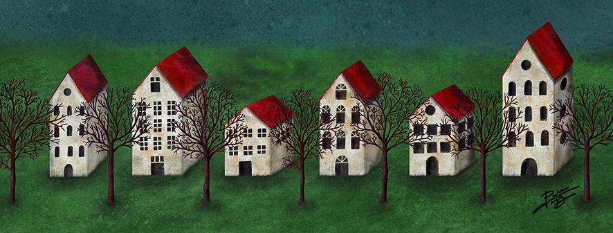 NUBOSIDAD VARIABLE, ilustración de Paula Domínguez