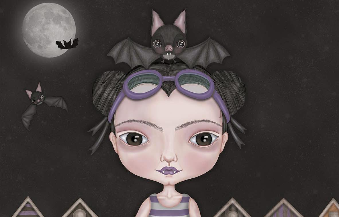 UN RAYO DE LUNA, la última ilustración de Paula Domínguez
