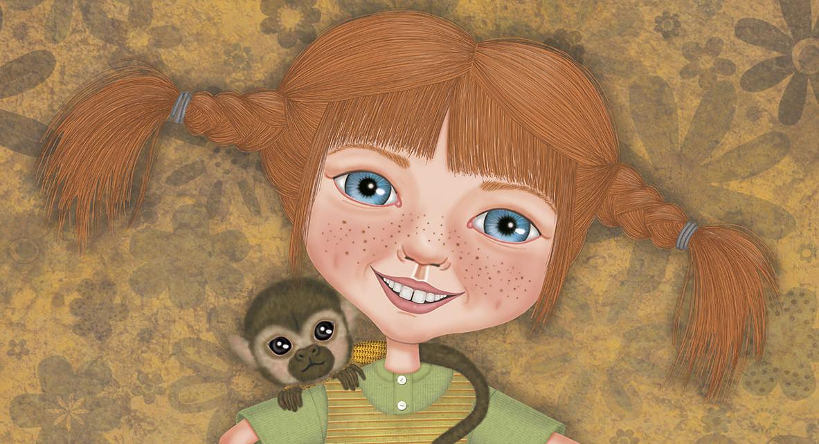 PIPPILOTTA, la última ilustración de Paula Domínguez